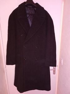 Taille Et 56 Manteau Laine Neuf Magnifique Noir Cashmere p4xR1Fq