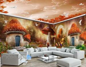 3D Fantacy Garden Wall Murals Wallpaper Paper Art Print Decor eBay