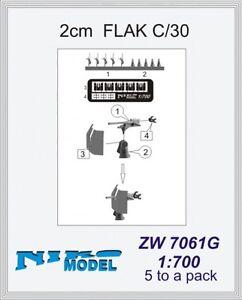 2cm Flak C/30 1/700 x5