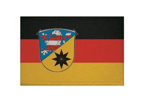 Ricamate Landkreis Waldeck-Frankenberg bandiera bandiera aufbügler Patch 9 x 6 cm