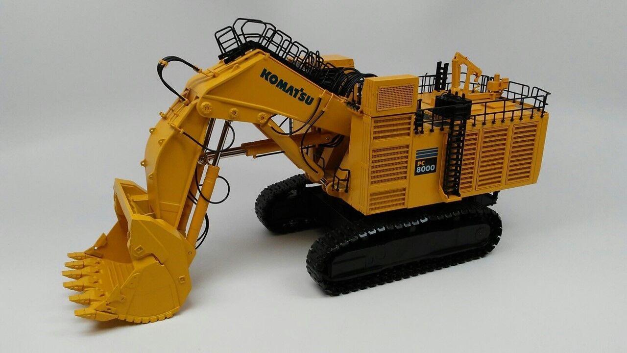 Komatsu PC8000 Electric Mining Shovel - 1  50 - BYMO Brand Ny