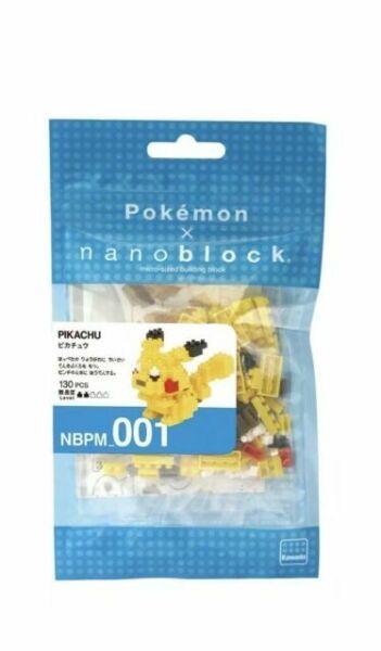 Nanoblock Zozotown Pikachu Eaves Gorky Set Pokemon  Japan