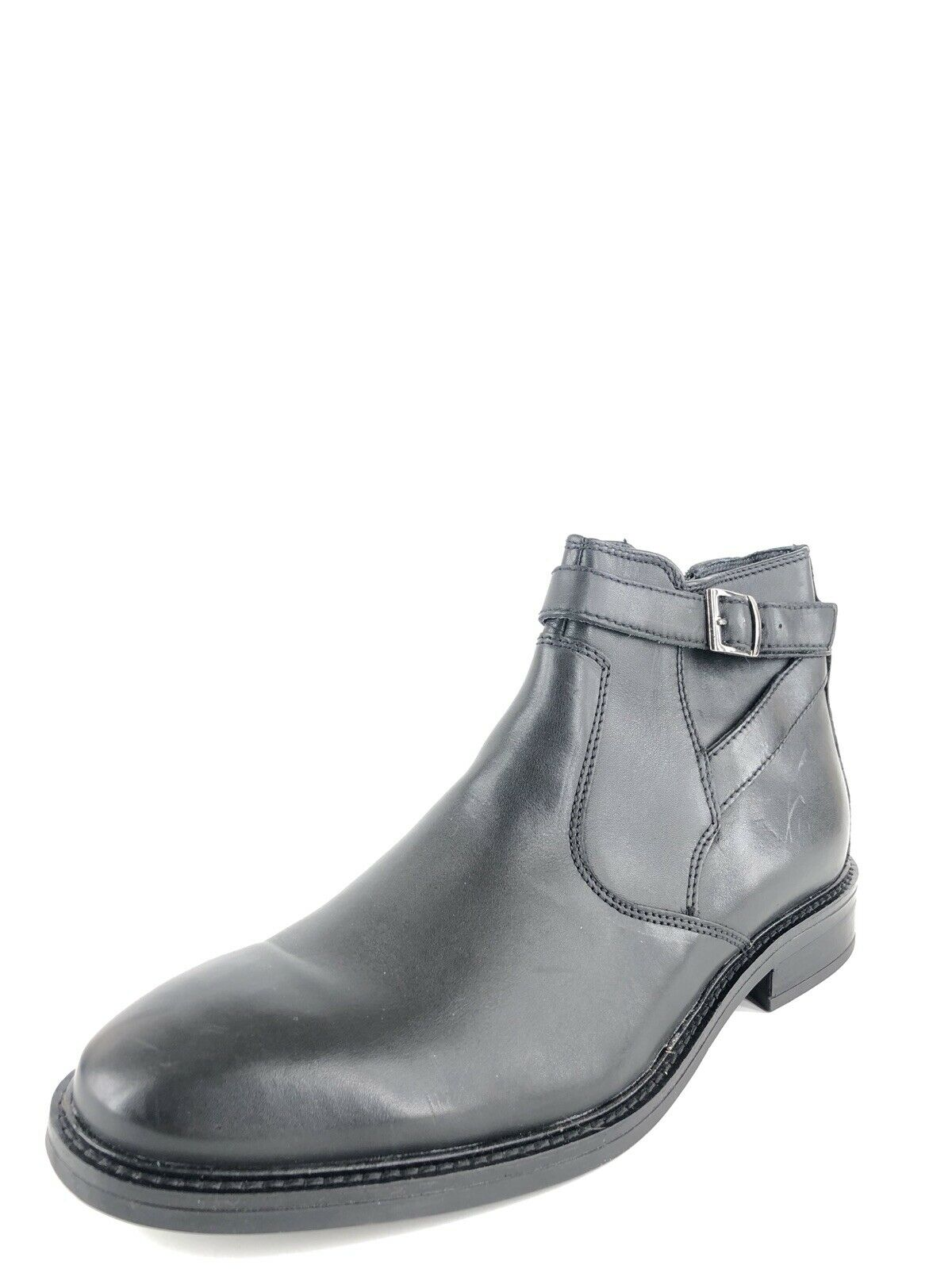 best-seller Alfani Noah Noah Noah Side Strap avvio nero Leather Dress scarpe Uomo Dimensione 11.5 M   alta qualità e spedizione veloce