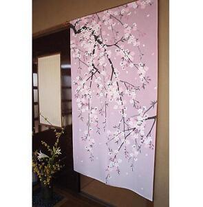 Noren Japanese Door Curtain Rideau Japonais Porte Raku Matcha