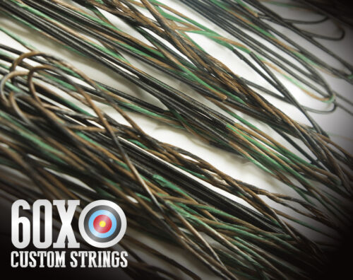 60X Custom Strings /& Cable Set for any Elite Bow Color Choice Bowstrings