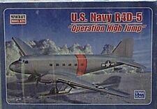 Minicraft 1/144 U S Navy R4D-5 Ski Plane Operation High Jump