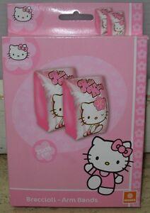 Braccioli Hello Kitty.Dettagli Su Braccioli Hello Kitty 25x15