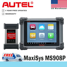 Autel MaxiSYS MS908P Pro Auto Diagnostic Tool Code Scanner J2534 Reprogramming