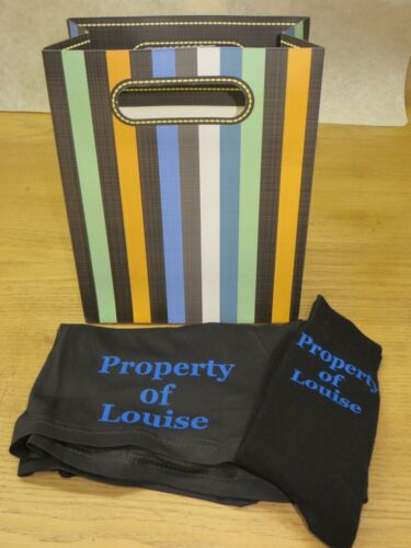 Personalised Boxer Shorts and Socks Set Property of ...
