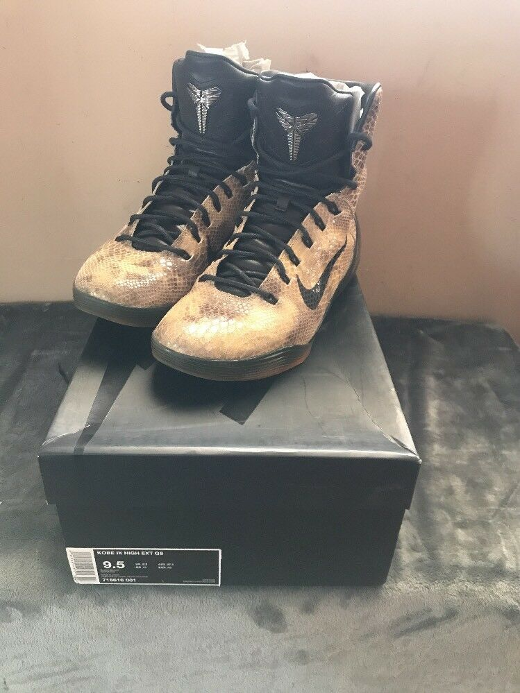 2018 Nike Kobe 9 IX High EXT QS Snake Skin Price reduction New shoes for men and women, limited time discount