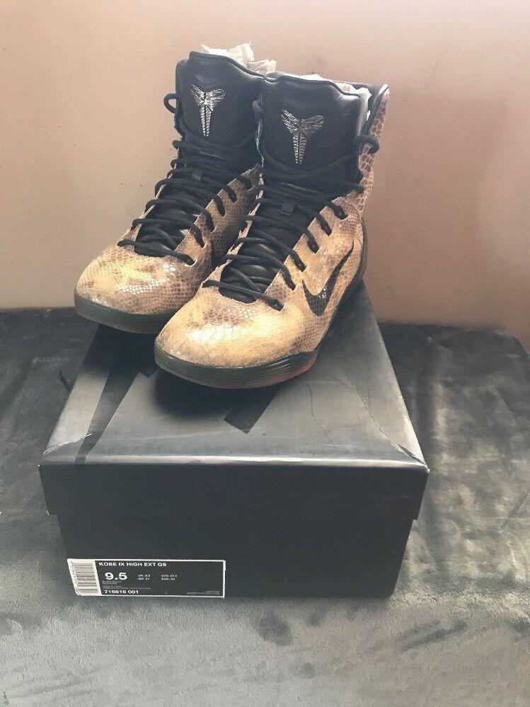 2018 Nike Kobe 9 IX High EXT QS Snake Skin Price reduction