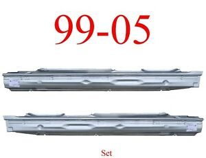 99 06 Full Rocker Panel Set L/&R For Extended Cab Trucks Chevy GMC 2.0MM Thick!!