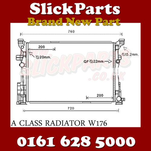 MERCEDES GLA RADIATOR  2011 /> GLA180 GLA200 GLA220 X156 AUTOMATIC *NEW*