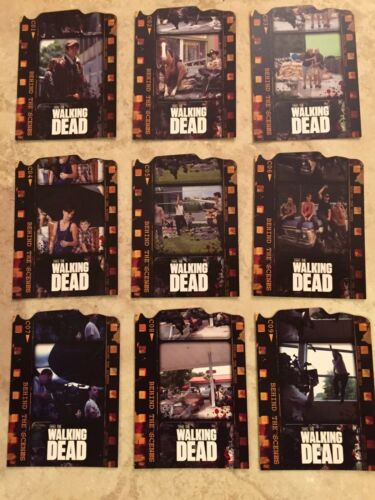 2011 WALKING DEAD Season 1 Behind The Scenes RARE trading card DIE CUT Chase Set
