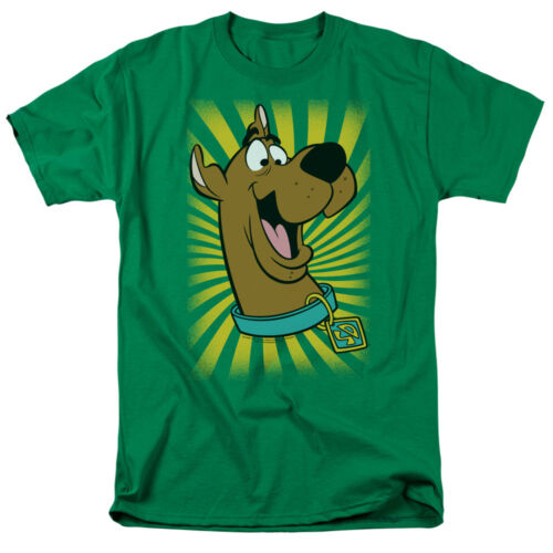 SCOOBY-DOO Dog Big Face Licensed Adult T-Shirt All Sizes