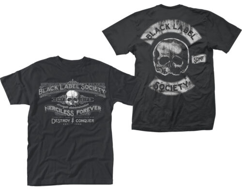 Black Label Society Merciless Forever Rock Official Tee T-Shirt Mens Unisex