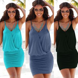 Beach-Wear-Womens-Beachwear-Swimwear-Bikini-Cover-Up-Kaftan-Ladies-Summer-Dress