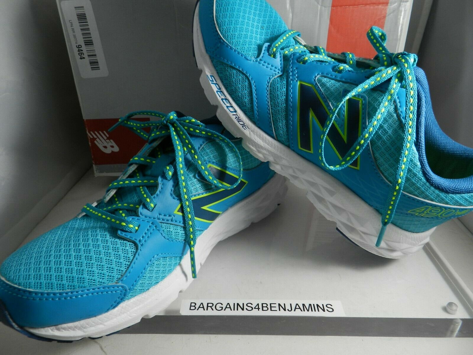 New Balance de mujer W490v3 Running zapatos agua Azul para mujer W490LT3