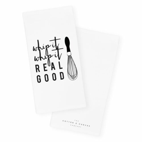 Details about  /Whip It Whip It Real Good Kitchen Tea Towel