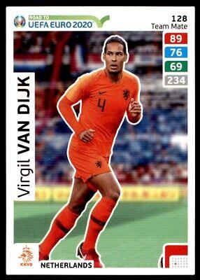 /Édition Limit/ée Carte Panini Adrenalyn XL UEFA Euro 2020 Virgil Van Dijk N/éerlandais