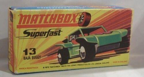 REPRO BOX MATCHBOX SUPERFAST n. 13 Baja Buggy