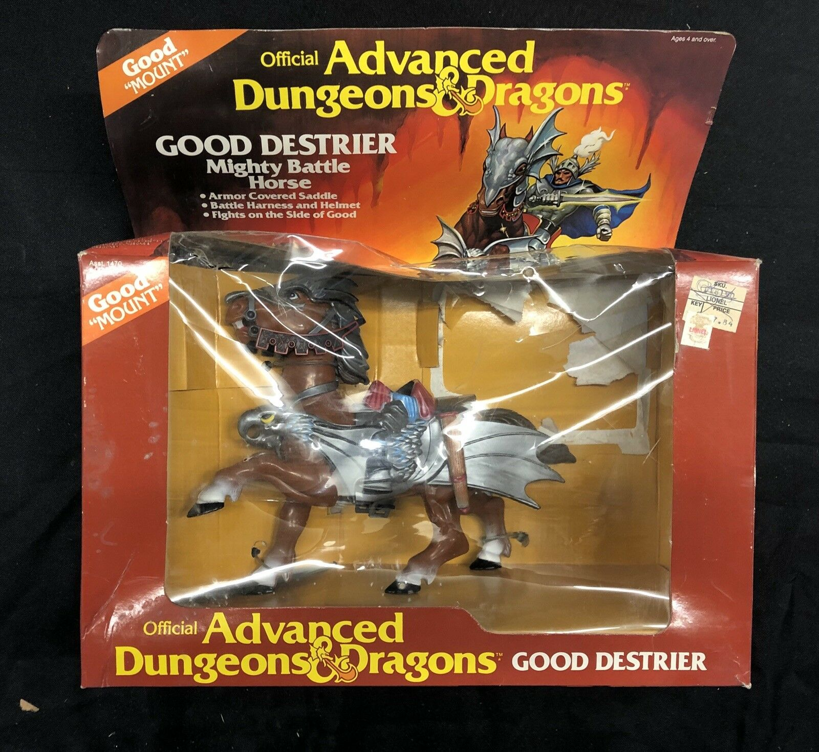 Advanced Dungeons - Dragons - Good Destrier 1983 LAAR06
