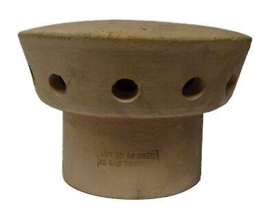 Clay Chimney Spigot Cowl Rain Cap Fluevent Pepper Pot Clay