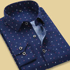 ST312 New Mens Luxury Formal Slim Fit Stylish Business Dot Shirts US XS-XXL HOT