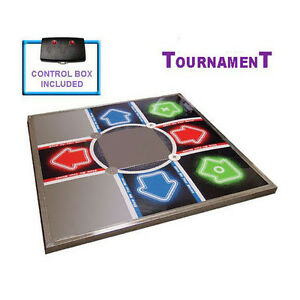 Ddr V3 Tournament Metal Dance Pad Mat For Ps Ps2 Ebay