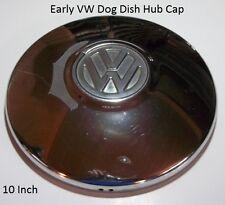 VW Original Dog Dish Poverty Hub Cap 10 Inch Wheel Cover Hubcap Original D