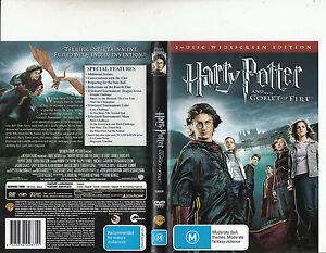 Harry Potter And The Goblet Of Fire 2005 Daniel Radcliffe 2 Disc Movie Dvd Ebay