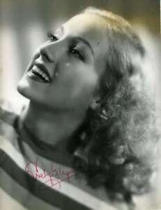 EVELYN-KEYES-Hand-Signed-JSA-COA-Vintage-40-s-8X10-Photo-Autographed-Authentic