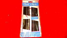 FAMILYMAID BRAND 200 pcs Bobby Pins Clip For color Black   1 size.