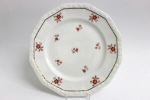 Rosenthal-Maria-rote-Blumen-Speiseteller