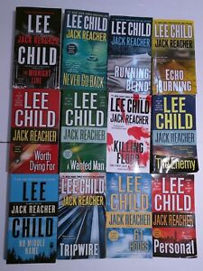Lee-Child-12-Jack-Reacher-series-The-Midnight-Line-No-Middle-Name-etc