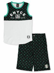 Enyce Garçons 2 Pièces Short Set Outfit-afficher Le Titre D'origine