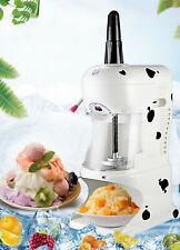 110v Commercial Snowflake Smoothie Machine Snow Cone Ice Shaving Machine
