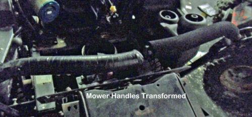 """ATV Motorcycles 1 Pair 19.5/"""" FOAM HANDLEBAR GRIPS  Mowers Bicycles Strollers"""