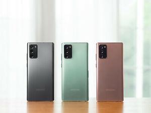 Samsung Galaxy Note 20 256gb 5G Factory Unlocked Pre-order