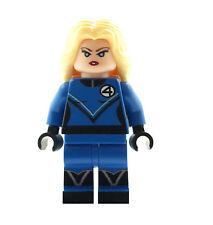 Custom Minifigure Invisible Woman Fantastic Four Superhero Printed on LEGO Parts