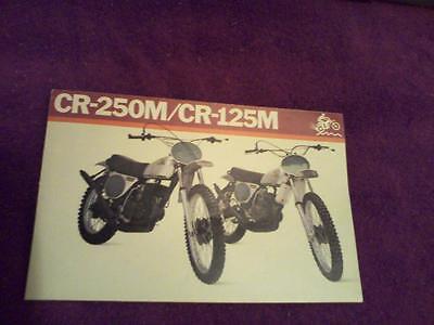 $9.00 1973 Honda Elsinore  MT-250//MT125   motorcycle sales brochure Reprint