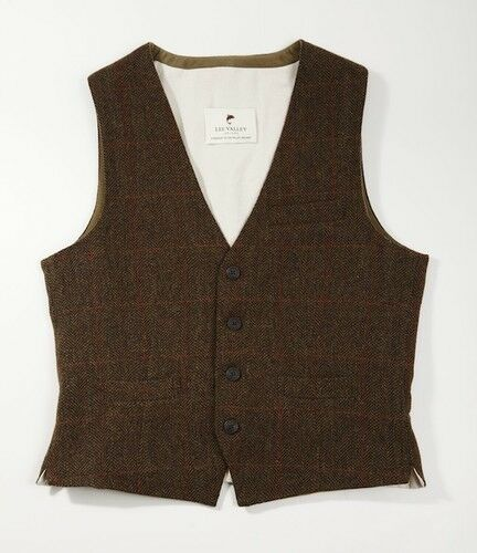 Luxury Durrow Irish Tweed Waistcoat - High Quality Classic Look