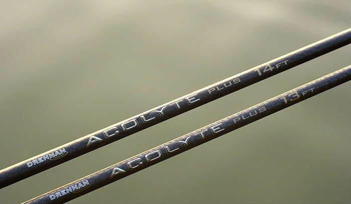 DRENNAN ACOLYTE PLUS 13FT OR 14FT RODS CARP COARSE FISHING