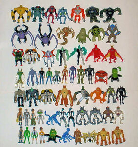 Ben-10-Figures-CHOICE-of-10cm-Action-Figures-4-to-10-FREE-P-amp-P