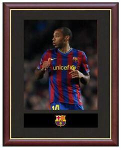 Thierry-Henry-Mounted-Framed-amp-Glazed-Memorabilia-Gift-Football-Soccer