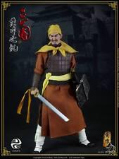 """303 Toys 1/6 Scale 12"""" Three Kingdoms Yellow Turban Rebellion Soldier w/ Blade"""