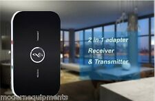 Bluetooth 2 in 1 Audio Transmitter + Receiver TV Music Sound Wireless + Battery