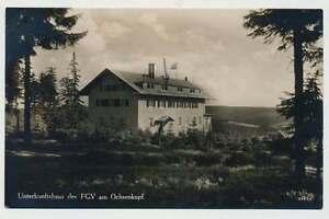 Ansichtskarte Unterkunftshaus des FGV bei Fleckl / Ochsenkopf, gel. 1940 (20921)