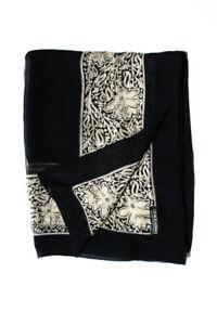 Giorgio Armani Lightweight Womens Vintage Silk Scarf multicolor floral print