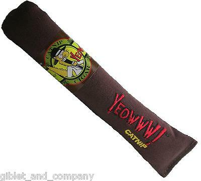 YEOWWW! CATNIP CIGAR CAT TOY - Filled only with Premium Super Potent Organic